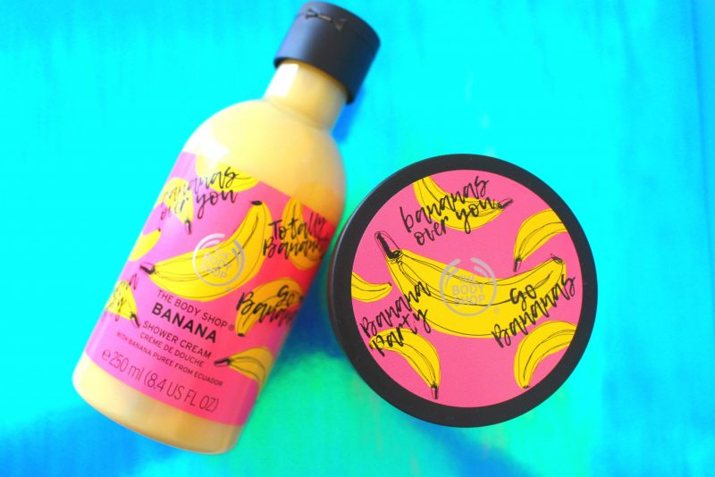Banana Skincare essentials from The Body Shop