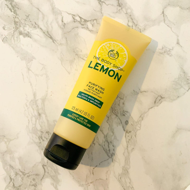 The Body Shop Lemon Purifying Face Wash Review